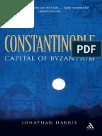 Jonathan Harris - Constantinople_ Capital of Byzantium (2007, Continuum)