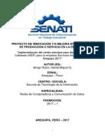 Proyecto de Innovación y Mejora - Senati