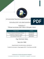 Informe 1 Astronomia Seccion 1000