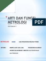 PERTEMUAN 1 ARTI DAN FUNGSI METROLOGI.pptx