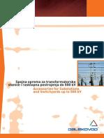 2005 Spojna Oprema Za Transformatorske Stanice Accessories for Substations