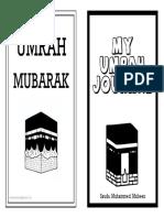 My Umrah Journal