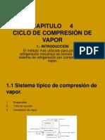 Ciclo de Compresion de Vapor