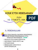 Slide Kode Etik Kebidanan 1