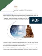 Maha Mrutunjay Puja Vidhi Trimbakeshwar