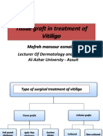 Tissue Graft in Treatment of Vitiligo By Dr.Mofreh Mansour