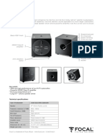 Cubevo Specification Sheet
