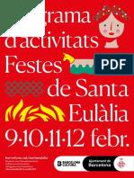 Programa Festes Santa Eulalia 2018