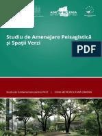 Studiu de Amenajare Peisagistica Si Spatii Verzi