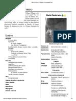 María Zambrano - Wikipedia, la enciclopedia libre