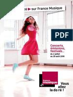 France Musique - Été 2018
