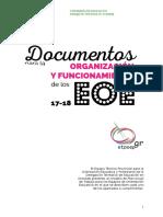 Documentos Para La Organizacic3b3n y Funcionamiento de Los Eoe