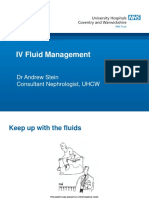 IV Fluid Management 03-18