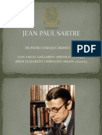 Jean Paul Sartre Diapositivas