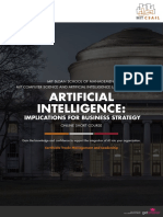 Mit Artificial Intelligence Online Short Program Brochure