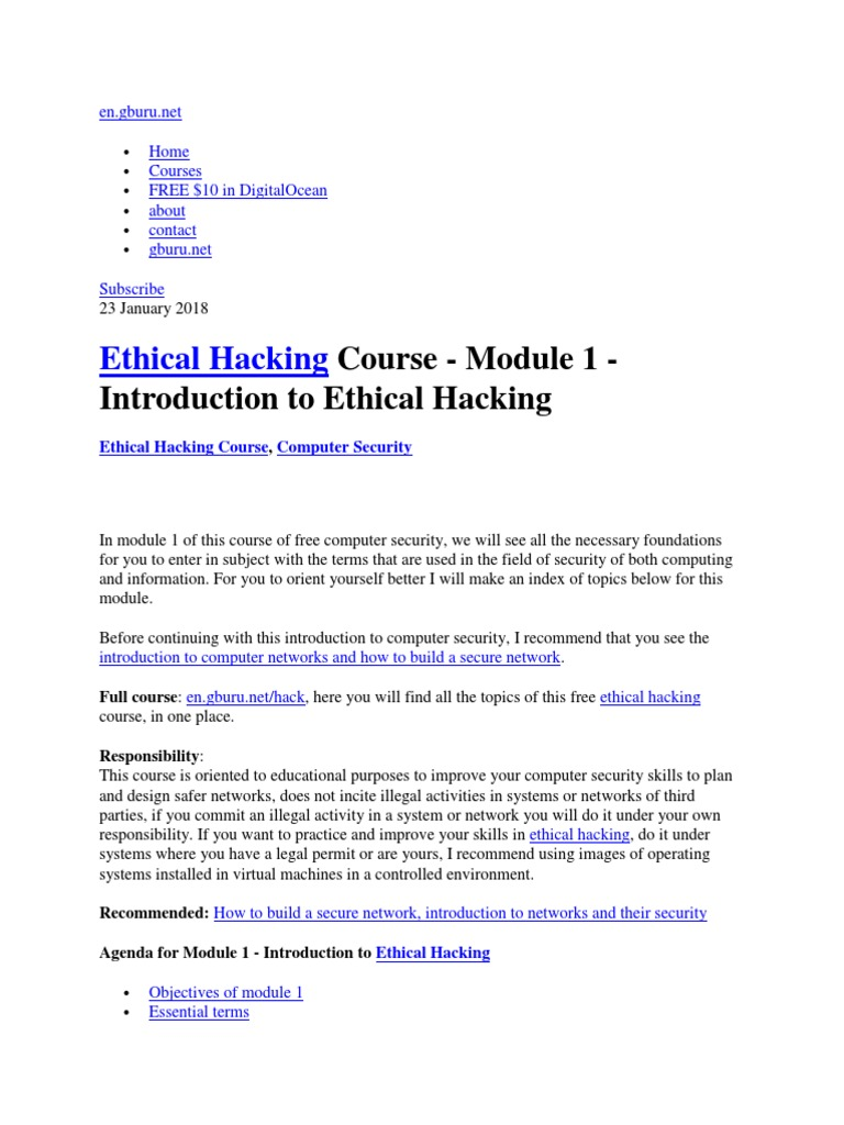 why ethical hacking is necessary