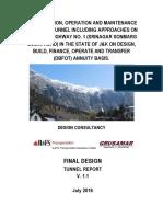 TUNNEL REPORT V. 1.1
