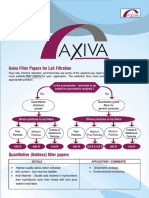 Avail All Types of Filter Papers at Axiva Sichem Biotech!