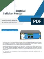 Ursalink UR52 Industrial Cellular Router Datasheet