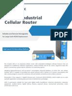 Ursalink UR71 Industrial Cellular Router Datasheet