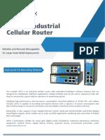 Ursalink Industrial Cellular Router UR75 Datasheet