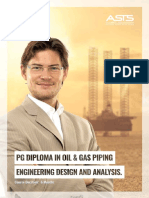 Pg Diploma in Oil & Gas Piping Engineering Design and Analysis