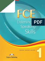 FCE Listening and Speaking Skills SB