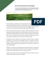 Conservación de Las Áreas Silvestres de Paraguay