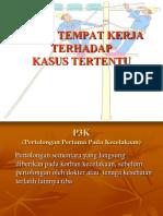 P3K Tersengat Listrik by Heny