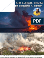 Volcanoes and Climate Change