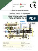 Catalogo Peças Paletizadora Autom. L594 1510090401