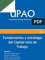 185297382 Fundamentos y Estrategias Para El Capital Neto de Trabajo