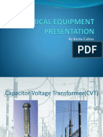 Electrical Equipment Presentation CVT AND VFD