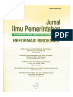 138 ID Reformasi Birokrasi Perizinan Usaha Di Daerah Kebermasalahan Politik Teknokratik