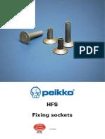 Peikko HFS Fixing Socket