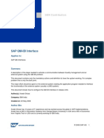 Sap QM-IDI Interface with LIMS