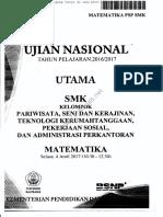UN SMK Pariwisata 2017 Www.m4th-Lab.net