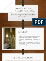 Liturgy and Devotional Music