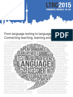 From Language Testing to Language Assessment