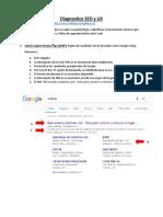 Sodimac - Diagnostico SEO y Ux