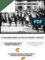 Parlamentarismo y Cuestión Social