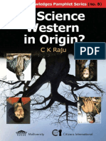 Is Science Western in Origin?  C. K. Raju