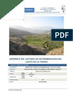 estudio del costo de tierra - yarascay