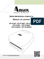 CP Series User's Manual_Spanish