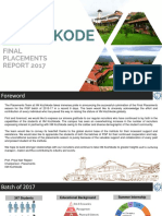Final Placement Report 2017