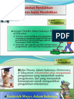 Hakekat Pendidikan & Ilmu Pendidikan