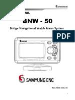 User Manual Bnw50
