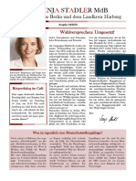 Newsletter Svenja Stadler 04 2018