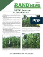 Aggrand News Summer 2010
