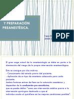 02. Anestesiología-evaluación y Preparación Preanestésica i